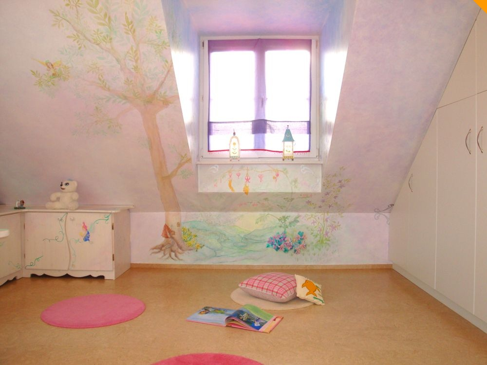 Pin Wandgestaltung Kinderzimmer on Pinterest