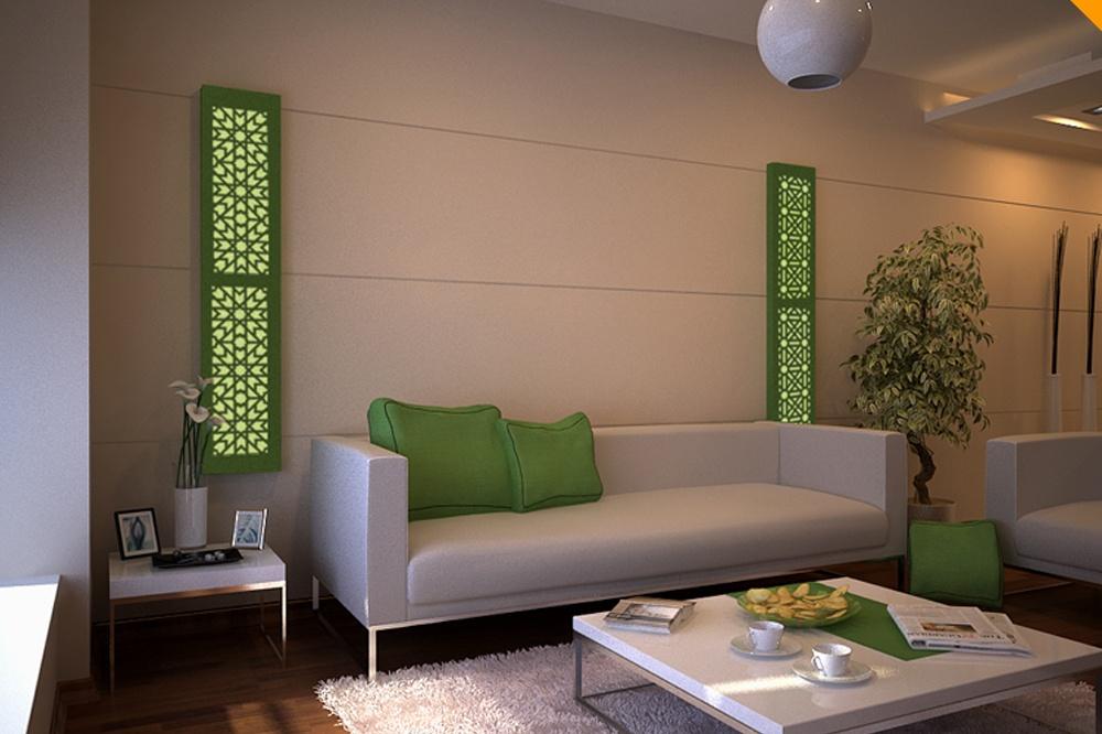 Wanddeko orientalisch ihr traumhaus ideen - Wohnzimmer wandlampen ...
