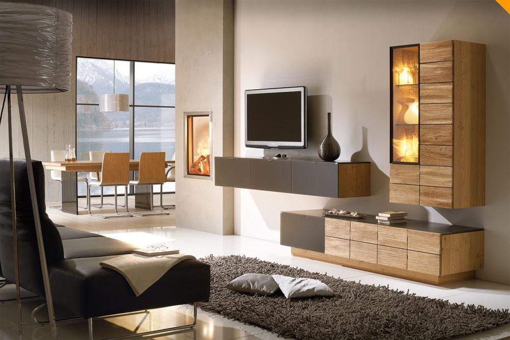 wohnzimmer naturholzmöbel: wohnzimmer von team7 sind besonders